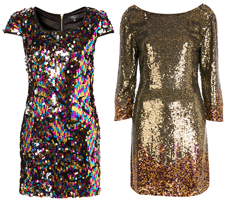 Sequin dresses tess daly